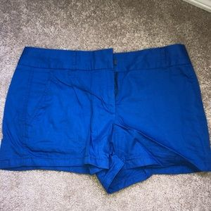 "J Crew chino shorts 4"" size 2"